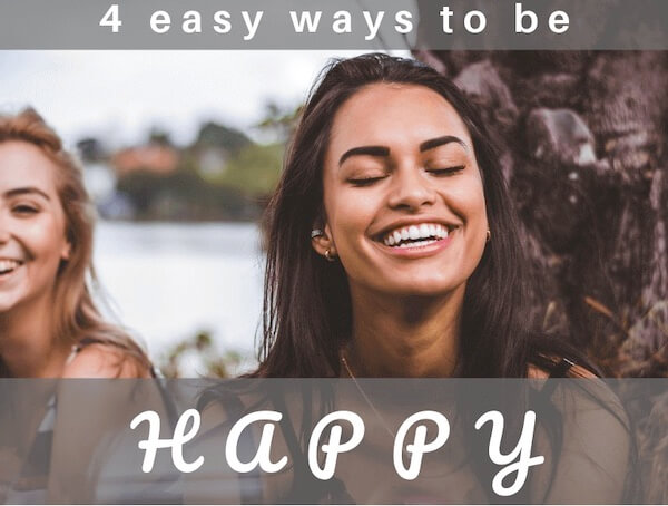 ModNChic Ageless Beauty for Young Mature 50s women - 4 ways to be happy in life
