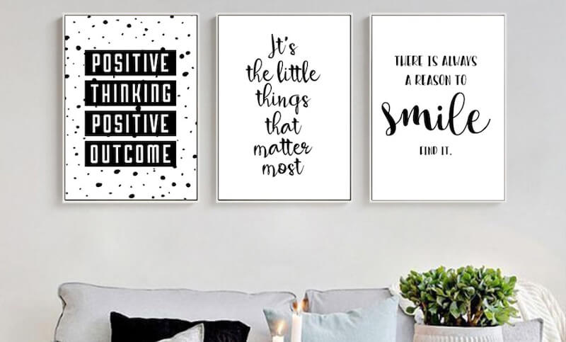 wall posters as part of our home decoration will make us happier at home