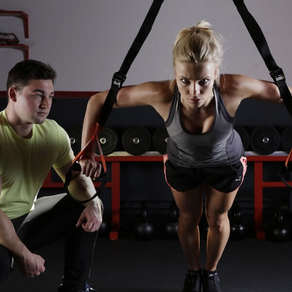 Stay fit and healthy in the gym - wearing the proper attire during workout at the gym