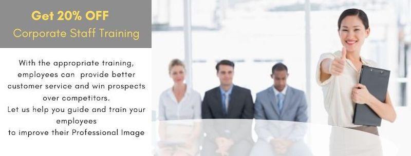 ImageXchange Corporate Staff Training - Business Image, Dress Sense, Etiquette, Communication, Networking skills, Soft skills