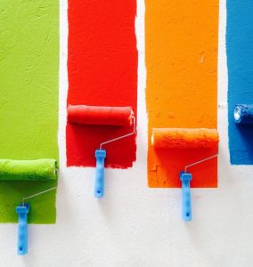 Review your home with a new coat of paint - follow the feng shui method