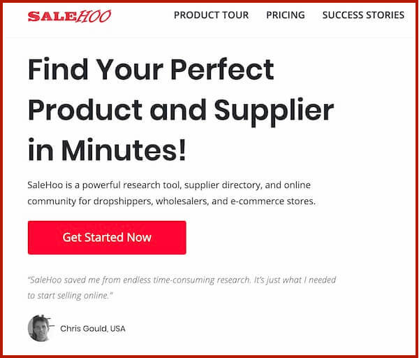 Start Internet Business for Beginners with Salehoo easy product search for dropshipping business