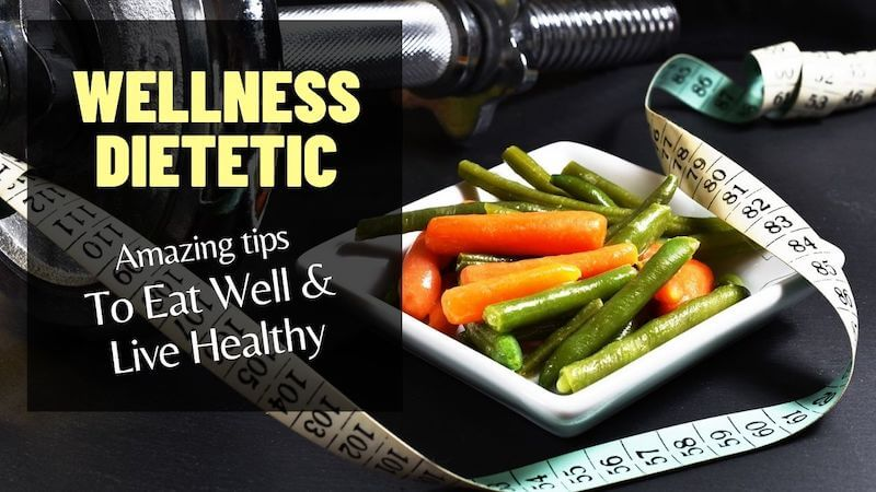 Modnchic free ebook Wellness Dietetic - Amazing Tips To Eat Well and Live Healthy