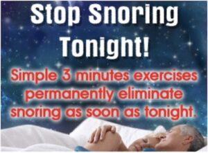 CB Stop Snoring Modnchic