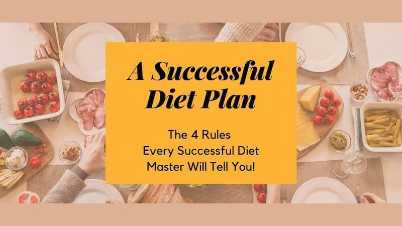 Successful Diet Plan - Follow 4 Simple Rules