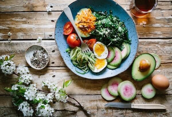Successful Diet - healthy food