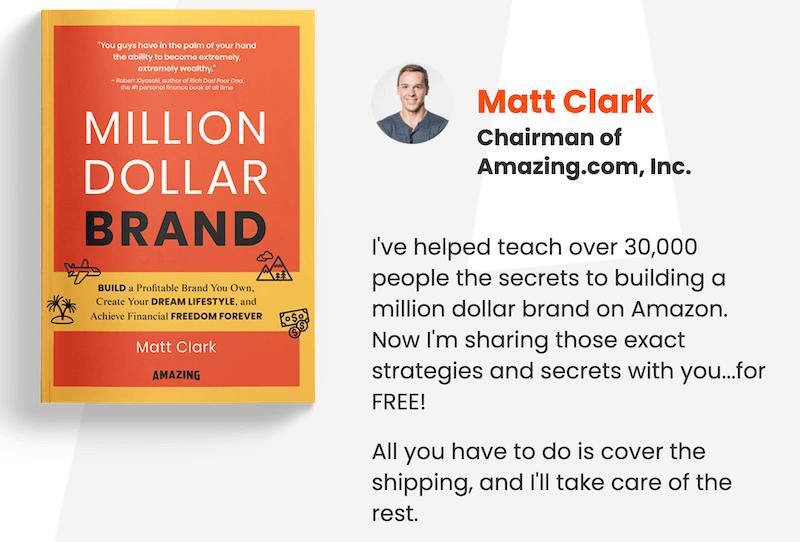 Million Dollar Brand Book + Matt Clark